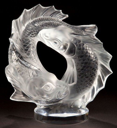Art Deco glass design by French jeweler Rene Lalique