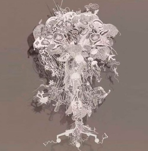 Chinese tradition in paper art by Bovey Lee