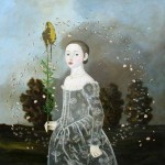 Gone with the wind. Painting by Anne Siems