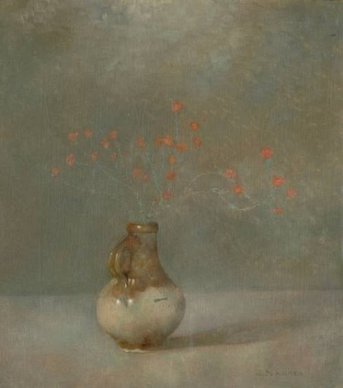 Painting by Jan Mankes, Dutch artist