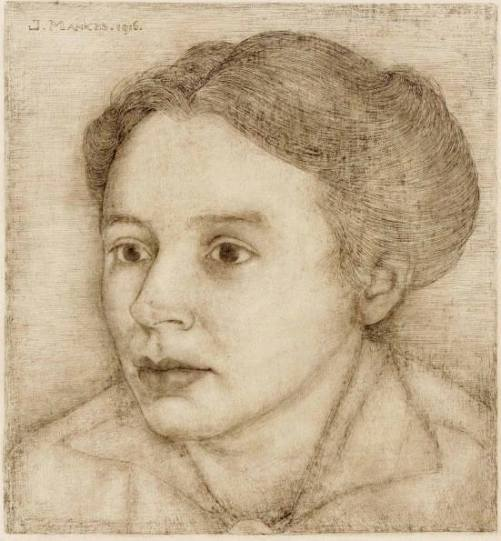 Portrait of Anne Mankes, wife of the artist