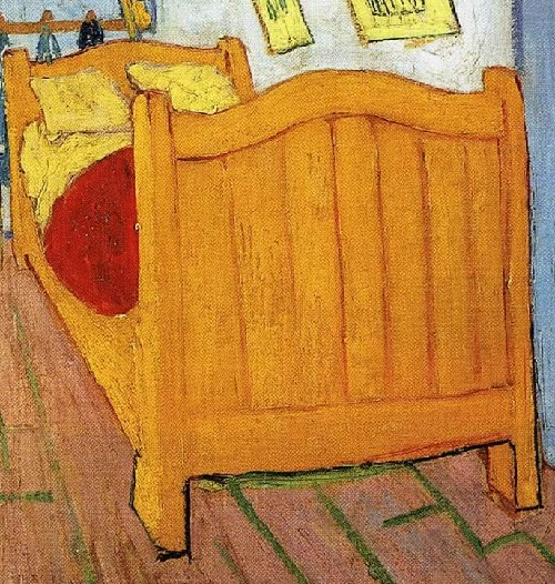 Empty beds of Van Gogh