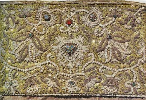 1674. Detail. Donated by Princess Anna Vasilyevna Cherkasova