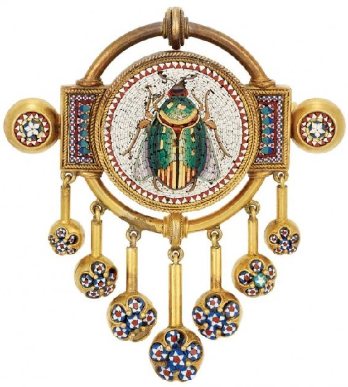 1860, the brooch-pendant