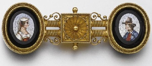 1860, the brooch