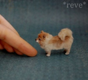 Hand made Realistic Miniature Sculpture by American self-taught artist Reve