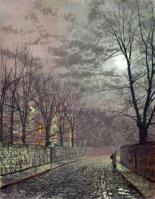Moonlight Painter John Atkinson Grimshaw