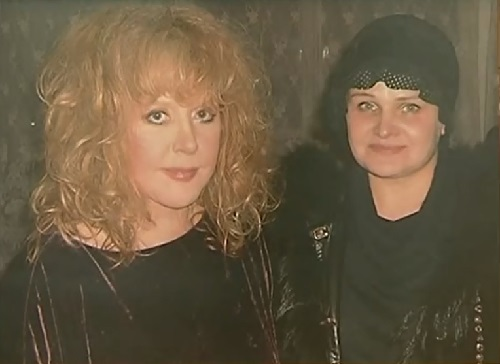 Marina Nesterova and Russian celebrity Alla Pugacheva