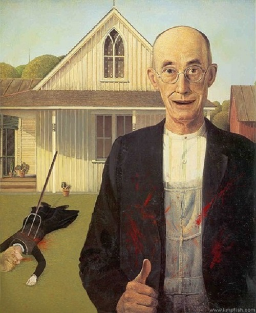American Gothic inspiration