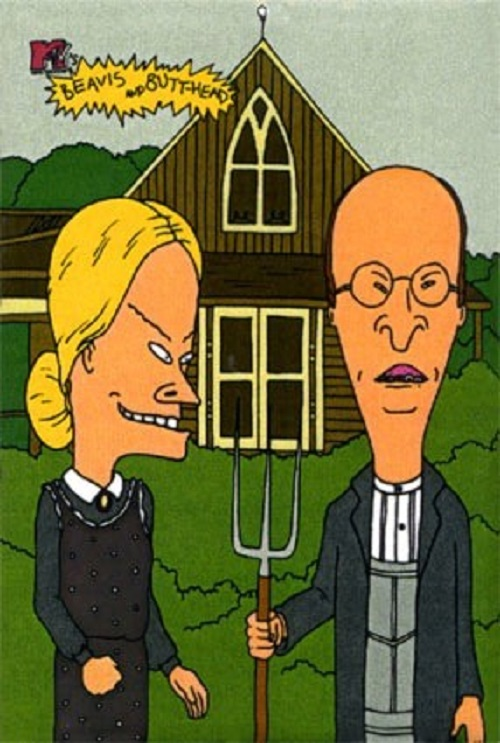 American Gothic An Inspiration And Target For Parodies 4
