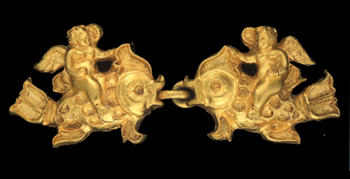 Ancient jewelry treasure of Afghanistan