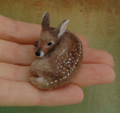 Realistic Miniature Animal Sculptures by Reve