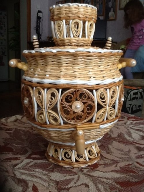 Basket weaving by Ilfat Khasanov