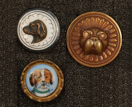 Antique buttons art