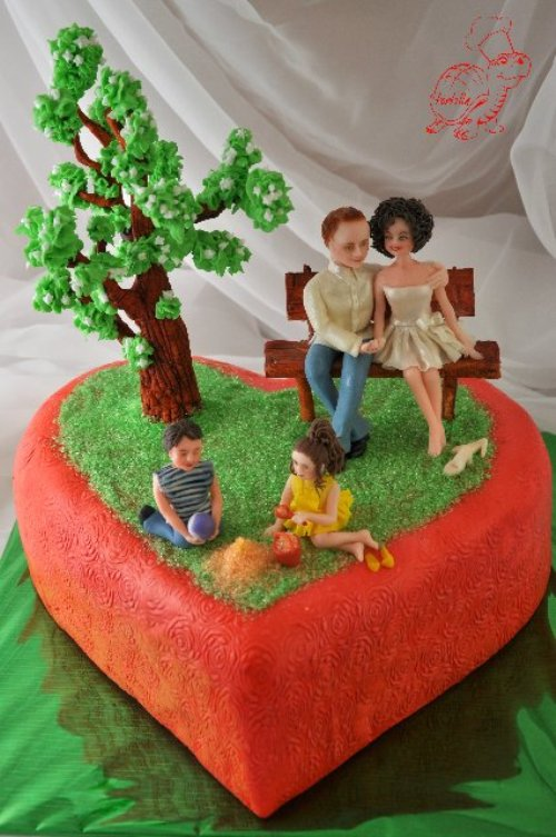 cake art by self-taught pastry artist Inna Bu