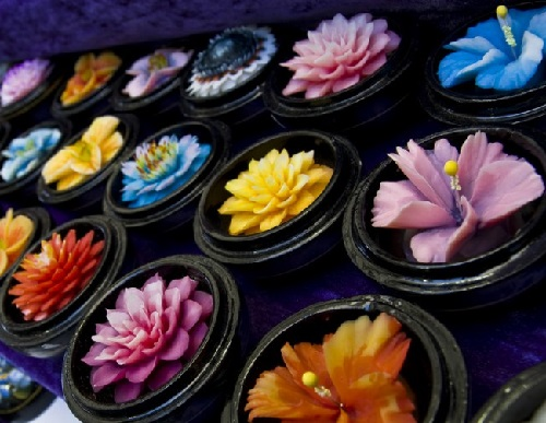 Soap carving in thailand art kaleidoscope