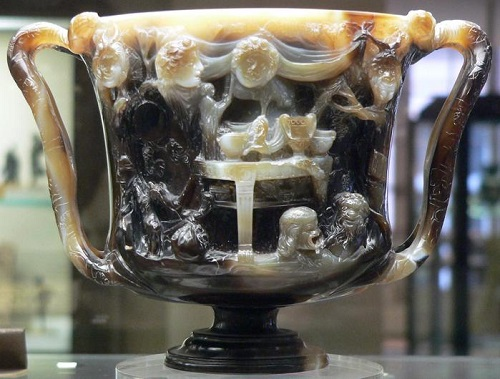 Cup of Ptolemy, back side