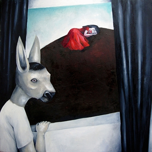 Donkey. Oil on canvas. 2008
