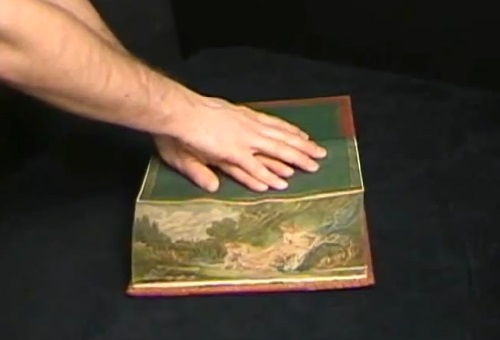 Fore-edge Painting (video print-screen)