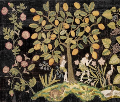 Garden of Eden, last quarter of 16th century. England