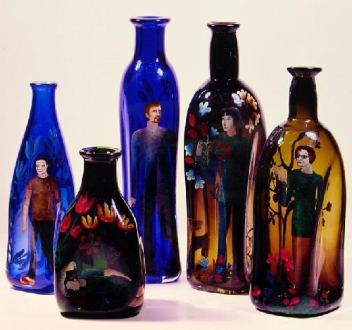 Glass art by Lyubov Savelieva