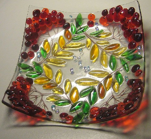Glass art by Elena Nechayeva
