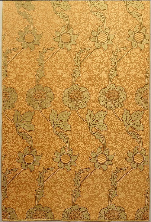 Kennet. Designed by William Morris. Manufactory Morris & Company, 1883. Medium Silk