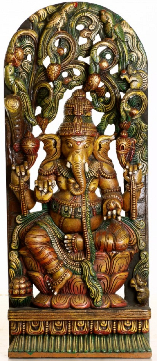 Ganesha In Indian Art Art Kaleidoscope