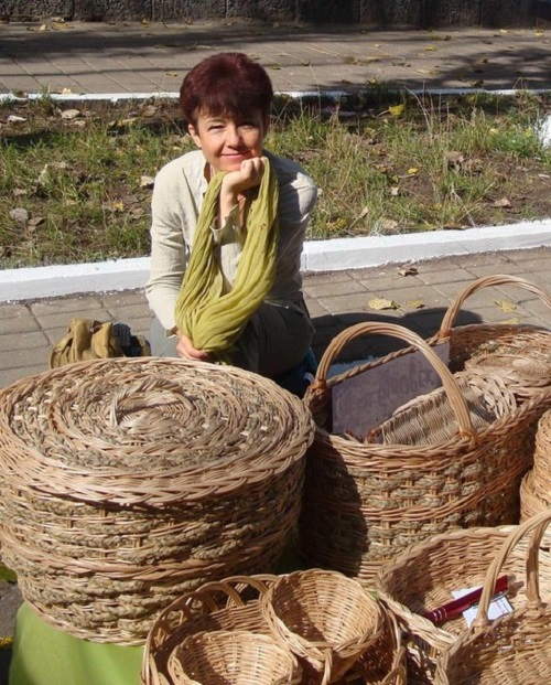 Lyudmila Viklina – master of basketry