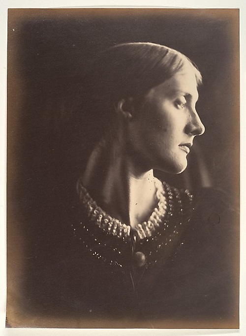Mrs. Herbert Duckworth. Julia Margaret Cameron. 1867