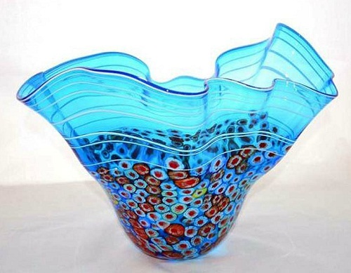 Vase by Murano glass artists