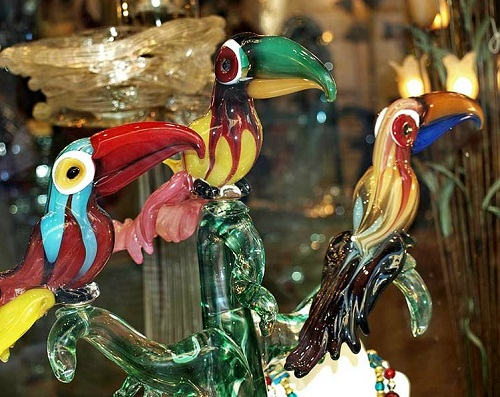 Murano glass art