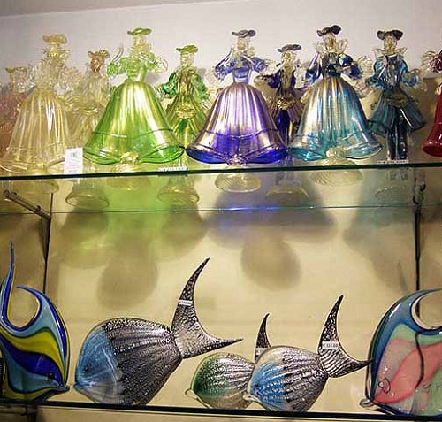 The art of Murano glass-makers