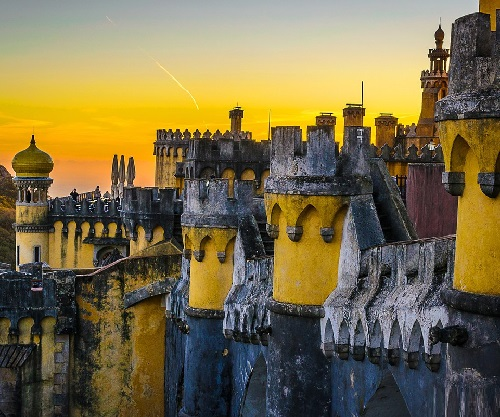 architectural art Pena Palace