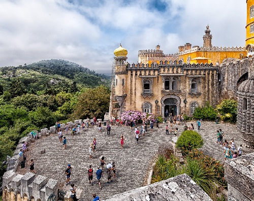 Portugal Sintra Pena Palace