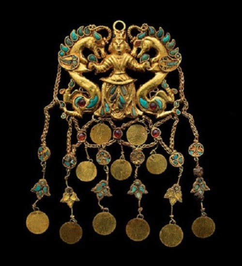 Ancient jewelry art of Afghanistan