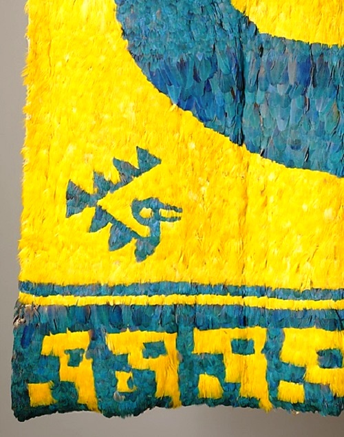 Feather panel (detail)