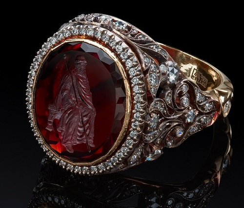 Ring with Intaglio (modern master)