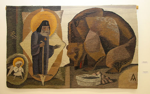 Tapestry by Russian artist of applied art Andrey Madekin