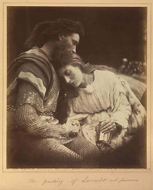 The Parting of Lancelot and Guinevere. Julia Margaret Cameron. 1874