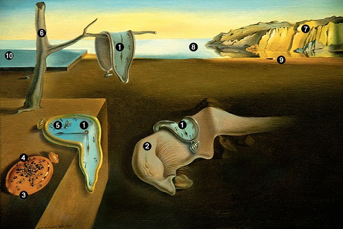 salvador dali the persistence of memory essay Surrealism, dali, melting clock - analysis of the painting, the persistence of memory, by salvador dali.