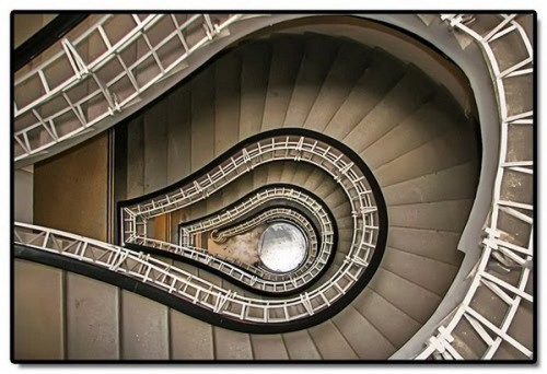 The art of Spiral staircases
