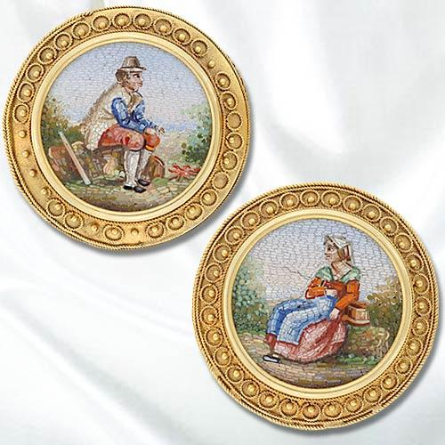 The second half of the 19th century. Brooches
