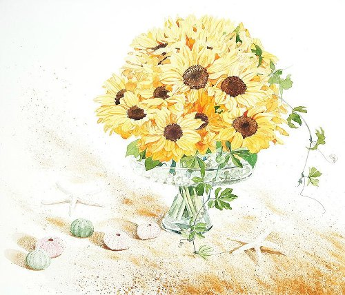 Watercolors by Japanese artist Ayako Tsuge