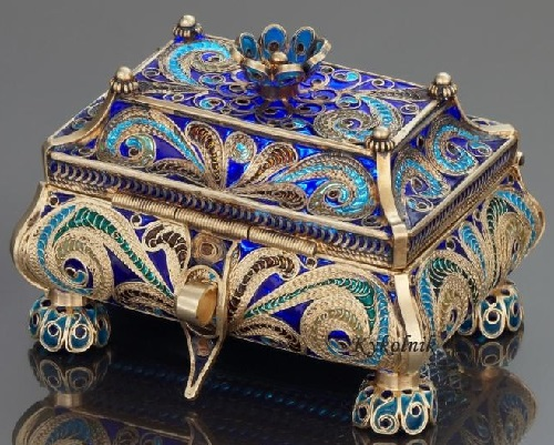 XIX century artwork by Russian jeweler Ivan Petrovich Khlebnikov