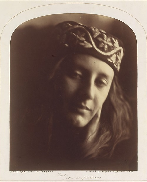 Zoe, Maid of Athens. Julia Margaret Cameron. 1866