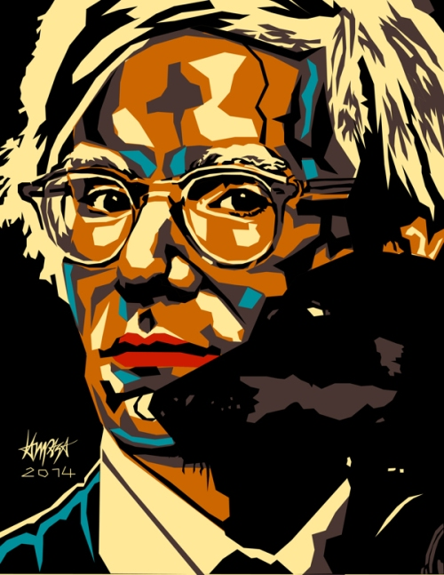 Andy Warhol. Dri Ilustre Illustrations