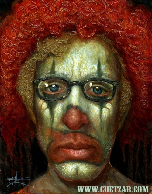 Andy dick, Scary surrealism painter Chet Zar
