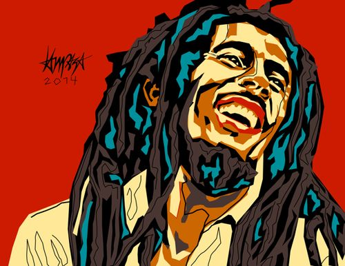 Bob Marley. Dri Ilustre Illustrations
