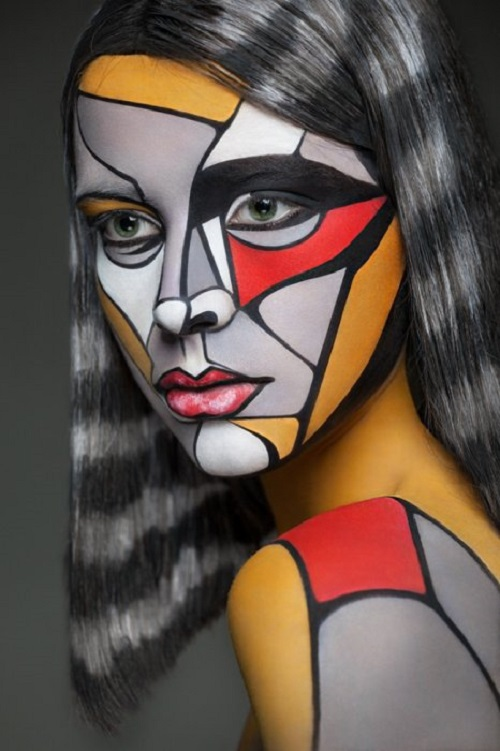 Body art project by Valeria Kutsan